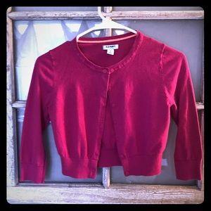 Old Navy Pink Crop Cardigan 😍🌸
